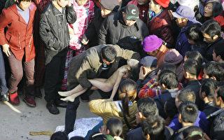湖南當局不救墜河學生 連夜施暴18萬封口