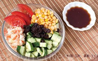 【味蕾‧便当菜】生菜沙拉(日式和风)