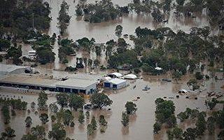 洪灾逼近澳洲第3大城布