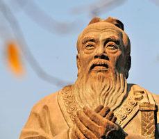 林子旭:孔子铜像与毛泽东画像的对话