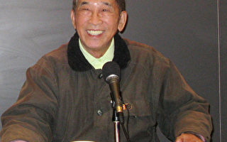 司徒華先生於2009年4月曾在哈佛演講。(大紀元)