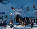 组图:奥地利冬季冰屋渡假村