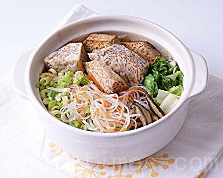 米粉料理(二)芋頭香菇蔬菜米粉