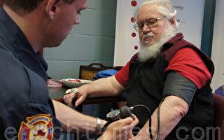 消防队也能免费量血压