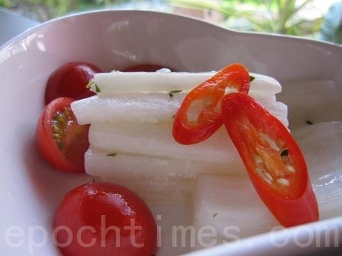 東洋風歐式醃漬蘿蔔(ALEX/大紀元)