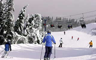 宾州滑雪场:瑞雪兆丰年