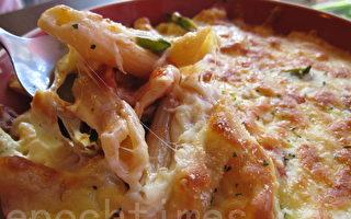 【舞動味蕾】焗烤蕃茄嫩雞筆管麵