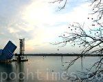 奧地利布雷根茨的水上舞台(攝影:溫祥/大紀元)