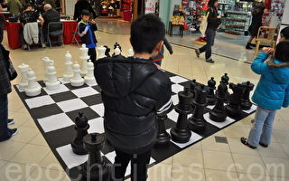 国际象棋棋友切磋在列市