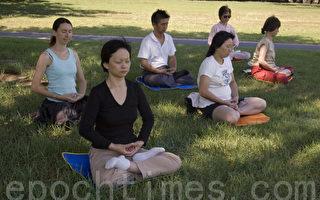 很多人發現,當靜下心來時,能體會到自身與周圍環境的融洽。(攝影:EET / 大紀元)