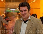 在奧地利BAWAG銀行就職的專家法比亞豪森布賴斯先生(攝影:JasonWang / 大紀元)