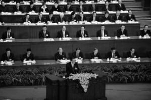 吳邦國一黨專政論PK世界民主潮流