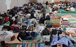 日强震后 近35万人挤避难所