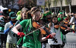 St. Patrick游行——传递春的信息