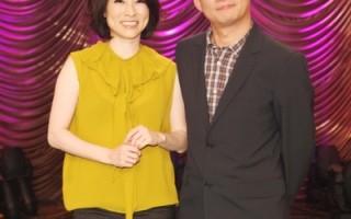 林慧萍、许常德主持《台湾红歌100年》。(图/公视提供)