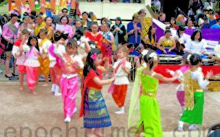 喜迎泰國新年  菲利蒙寺廟舉行慶典