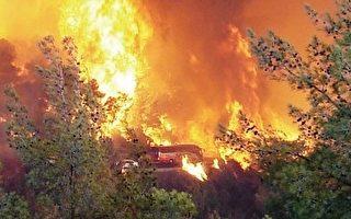 科學家發現森林大火與暖化的氣候和雪融更早有關。 (圖/Getty Images)