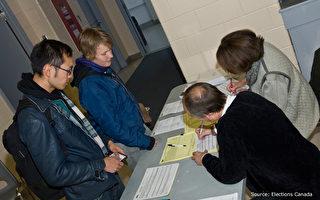加拿大聯邦大選投票 大陸新移民首行選舉權