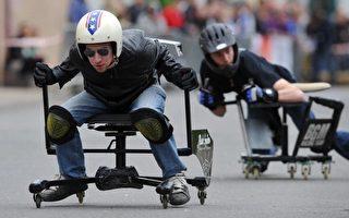 「開」辦公椅過賽車癮 盧森堡人獲德國冠軍