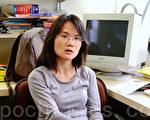 國際記者聯會香港及中國區代表胡麗雲2011年5月5日呼籲,中華電信秉承社會企業良心,併除政治壓力,公開交代新唐人亞太台續約受阻的原因。(攝影:鄺天明/大紀元)