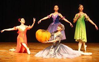 高雄城市芭蕾舞团 屏东艺术馆上演仙履奇缘