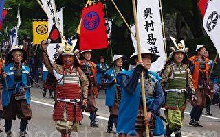 組圖:日本石川金澤著名百萬石祭典