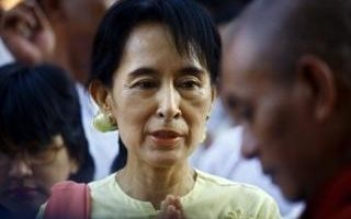 民主鬥士翁山蘇姬 9年來首次自由慶生