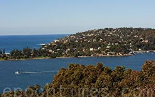 悉尼附近一些区逆势 房价不升反降