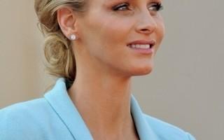 摩納哥王妃豪華婚紗 鑲嵌萬顆珠寶