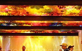 光與色彩的完美結合 池胡利玻璃藝術展