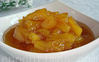 【采秀私房菜】香甜浓郁的凤梨果酱