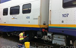 一男子冲入轨道 被西岸快车撞死