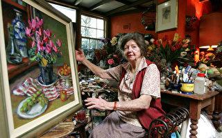 澳洲傑出女畫家瑪格麗特•奧利去世