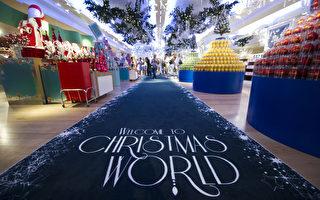 2011年7月28日,倫敦哈洛德(Harrods)百貨公司推出聖誕禮品販售專區。(James McCauley/Harrods via Getty Images)