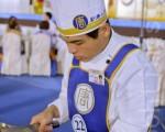 粤菜选手廖明政表示,厨师做菜最重要的是心。(摄影:许基东/大纪元)