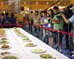 7月31日上午第六场比赛-东北菜、粤菜、川菜(摄影: 吴柏桦 / 大纪元)