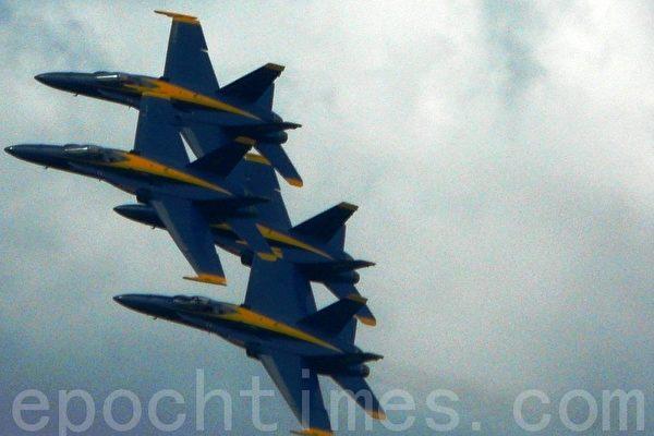 「藍天使」飛行表演將「海洋節」推向高潮