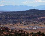 美国犹他州群山起伏、风景美丽。(图片来源:Doug Pensinger/Getty Images)