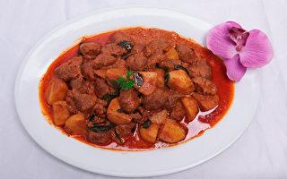 干咖喱羊肉