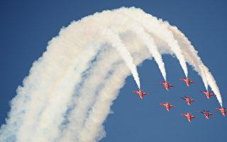 英国空军红箭飞行队坠机 飞行员丧生