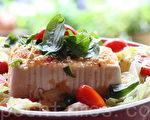 涼拌泰式嫩豆腐沙拉(攝影: ALEX / 大紀元)