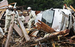 强台塔拉斯横扫 豪大雨重创日本