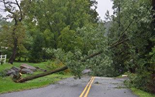 艾琳飓风肆虐 大费城地区受损