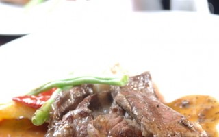 繽紛西餐廳推出的月宴烤肉狂饗曲(攝影:徐乃義/大紀元)