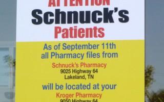 Schnucks宣佈退出孟菲斯市場