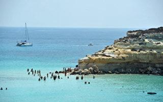 組圖:意大利美麗的蘭佩杜薩島