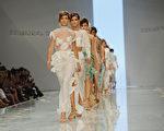 組圖:米蘭時裝週 2012春夏女裝搶眼