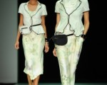 組圖:安普里奧.阿瑪尼2012年春夏女裝