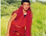 四川格尔登寺自焚僧侣格桑旺求。(藏人提供)