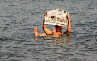 死海「不死」 湖底發現神祕生物